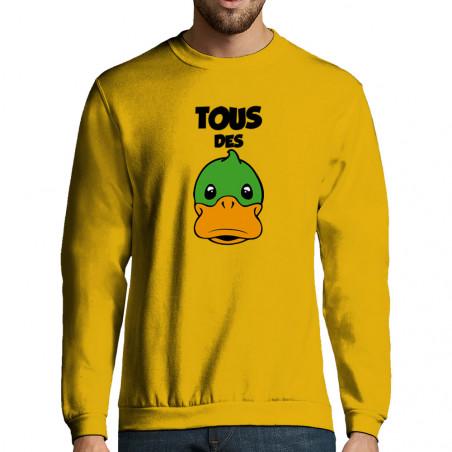 """Sweat-shirt homme """"Tous des..."""