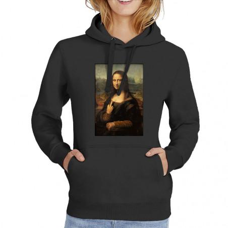 """Sweat femme à capuche """"Mona..."""