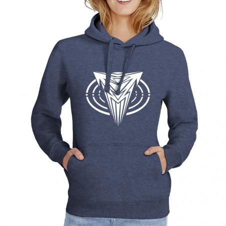 """Sweat femme à capuche """"Logo"""""""