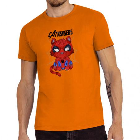 "Tee-shirt homme ""Catvengers..."