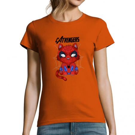 "T-shirt femme ""Catvengers..."