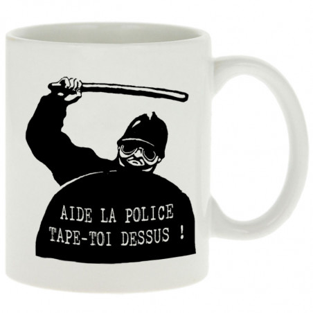 "Mug ""Aide la police"""