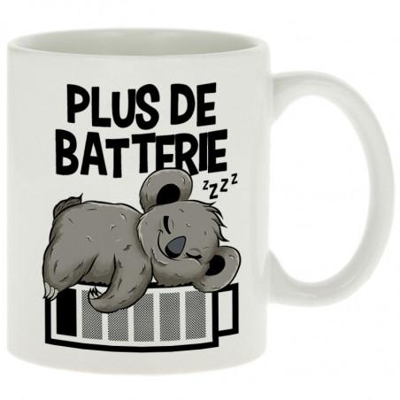 """Mug """"Plus de batterie koala"""""""