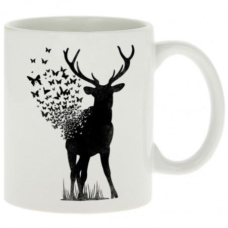 "Mug ""Deer Butterfly"""