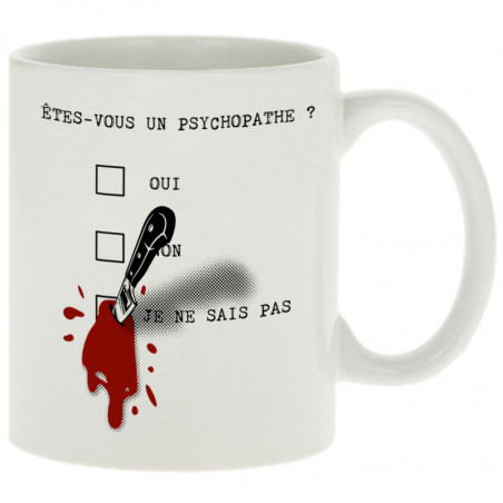 "Mug ""Un psychopathe"""
