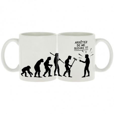 """Mug """"Arrêtez de me suivre"""""""