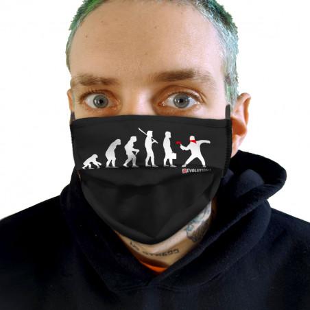 "Masque en tissu ""Révolution 2"""