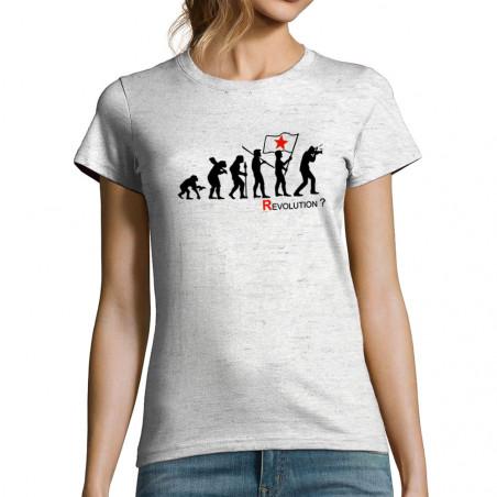"""T-shirt femme """"Révolution..."""