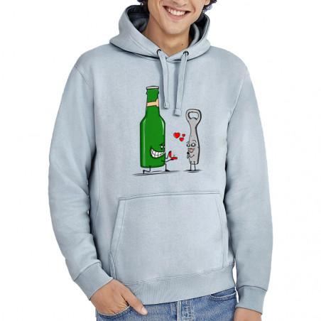 "Sweat homme à capuche ""Beer..."