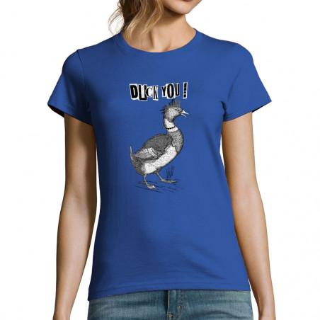 """T-shirt femme """"Duck You"""""""
