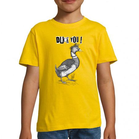 "Tee-shirt enfant ""Duck You"""