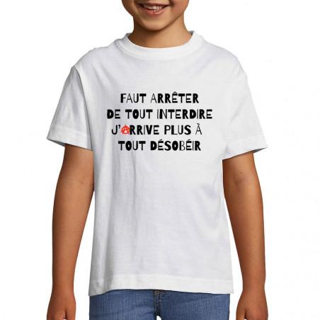 "Tee-shirt enfant ""Tout..."