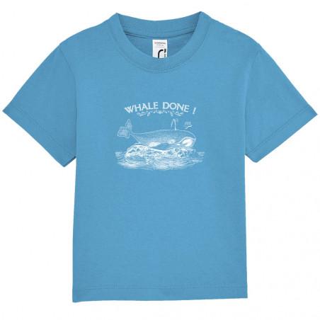"""Tee-shirt bébé """"Whale Done"""""""