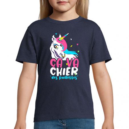 """Tee-shirt enfant """"Ca va..."""
