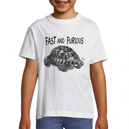"Tee-shirt enfant ""Fast and..."