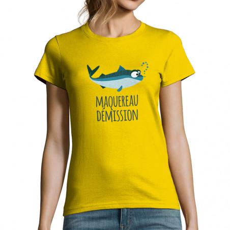 """T-shirt femme """"Maquereau..."""