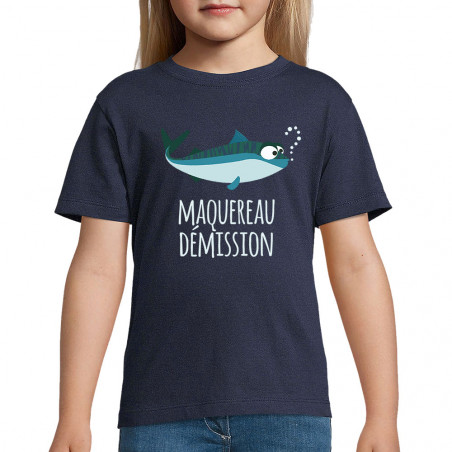 """Tee-shirt enfant """"Maquereau..."""