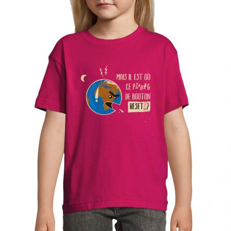 "Tee-shirt enfant ""Bouton..."