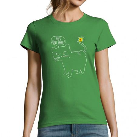 """T-shirt femme """"Alors Chat..."""