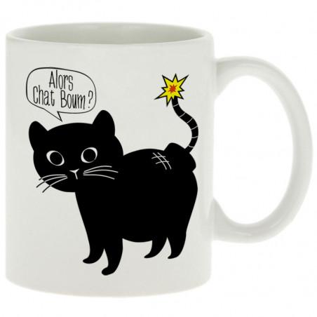 "Mug ""Alors Chat Boum"""