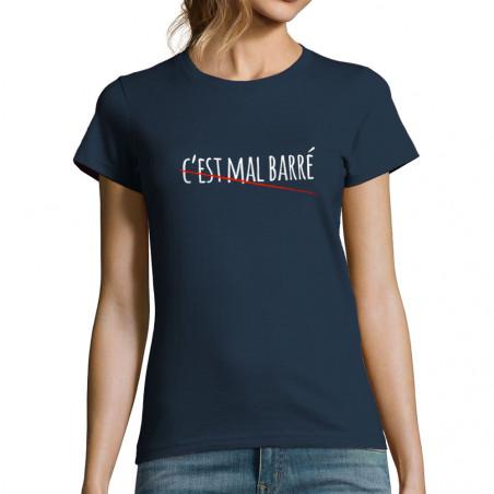 """T-shirt femme """"C'est mal..."""