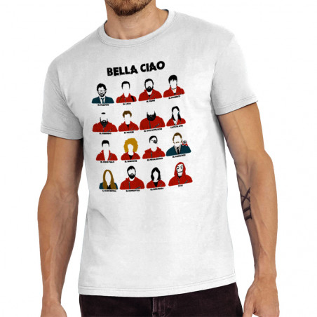 "Tee-shirt homme ""Bella Ciao"""