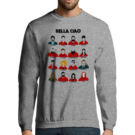 "Sweat-shirt homme ""Bella Ciao"""