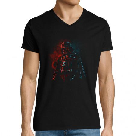 "T-shirt homme col V ""Dark..."