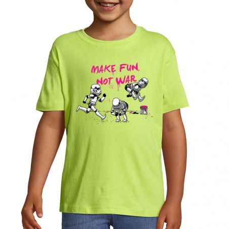 """Tee-shirt enfant """"Make fun..."""