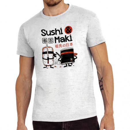 "Tee-shirt homme ""Sushi et..."