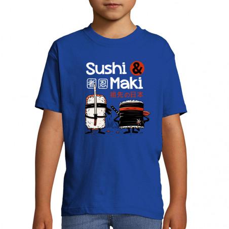 "Tee-shirt enfant ""Sushi et..."