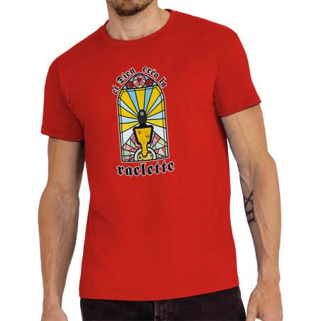 "Tee-shirt homme ""Dieu créa..."
