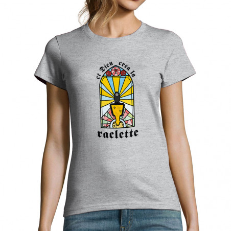 """T-shirt femme """"Dieu créa la..."""