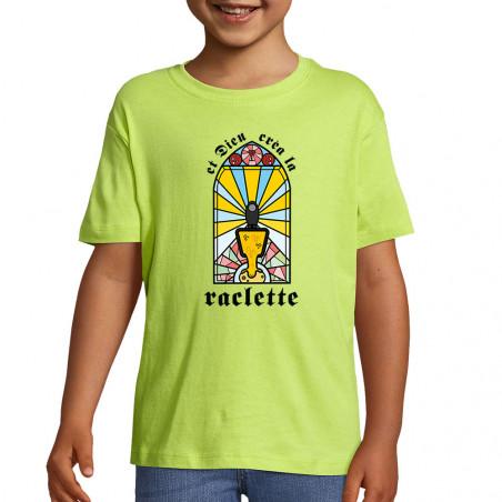 """Tee-shirt enfant """"Dieu créa..."""