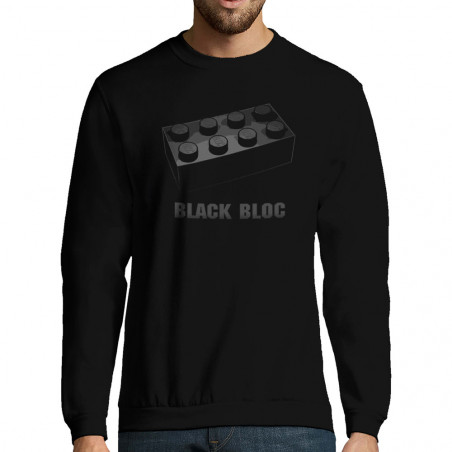 "Sweat-shirt homme ""Black Bloc"""