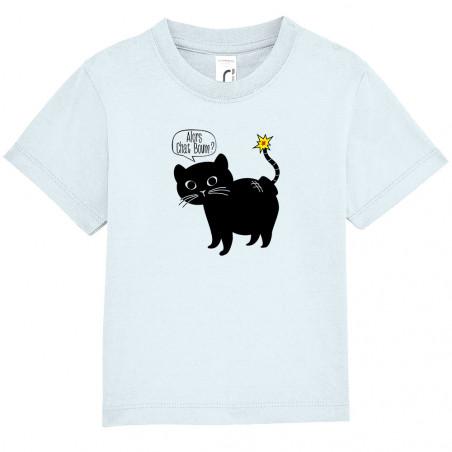 "Tee-shirt bébé ""Alors Chat..."