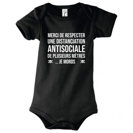 "Body bébé ""Distanciation..."