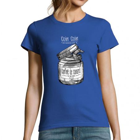 """T-shirt femme """"Confiné de..."""
