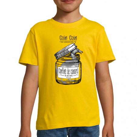 """Tee-shirt enfant """"Confiné..."""