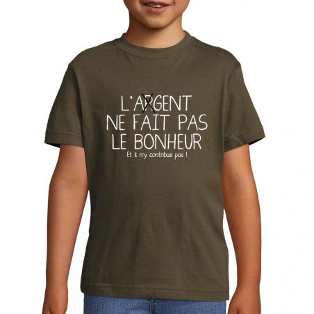 "Tee-shirt enfant ""L'agent..."