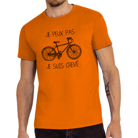 """Tee-shirt homme """"Je peux..."""