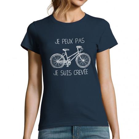 """T-shirt femme """"Je peux pas..."""