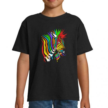 """Tee-shirt enfant """"Zèbre..."""