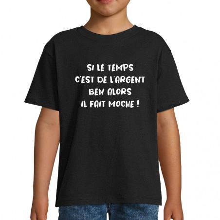 """Tee-shirt enfant """"Il fait..."""