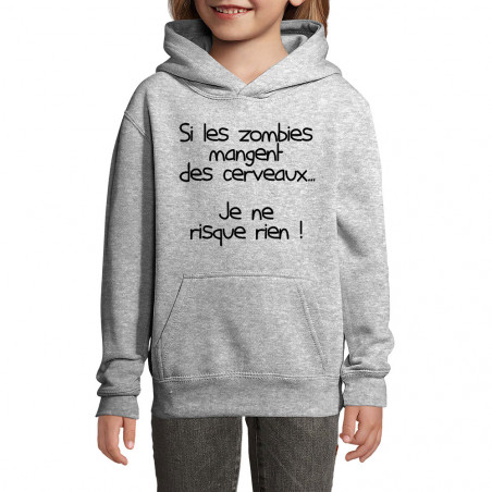 "Sweat enfant à capuche ""Si..."
