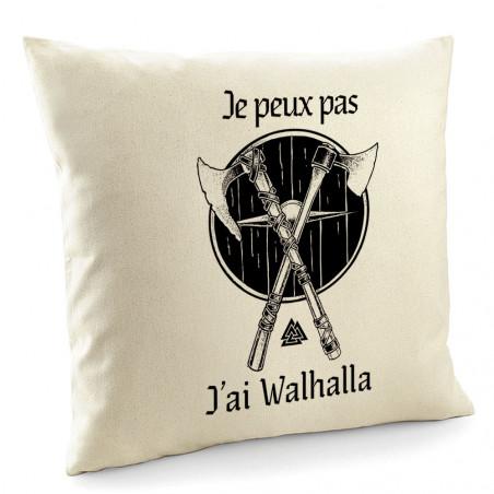 """Coussin """"J'ai Walhalla"""""""