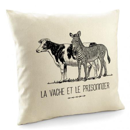 """Coussin """"La vache et le..."""