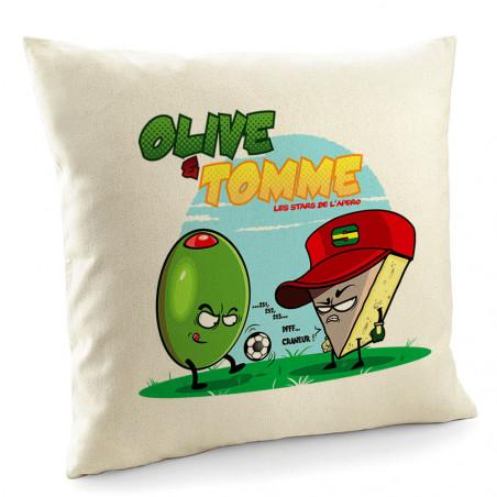 "Coussin ""Olive et Tomme"""