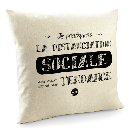 "Coussin ""Distanciation..."