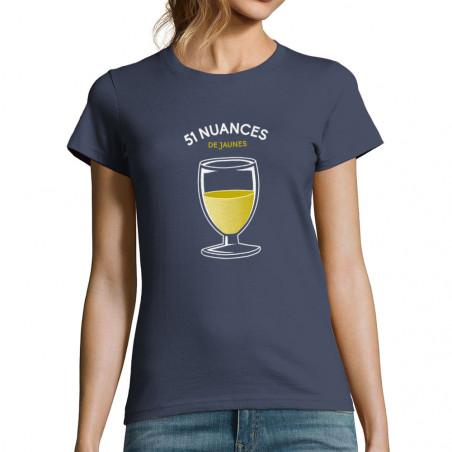 """T-shirt femme """"51 nuances..."""